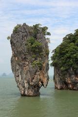 James Bond island. Phuket. Thailand.