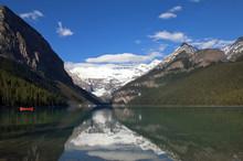 Lake Agnes. Banff Alberta