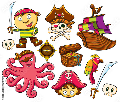 Pirate Collection Set #38480871