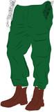 Modne męskie spodnie - 38489874