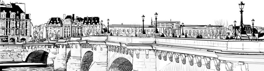 Fototapeta Miasta Paris - Pont neuf