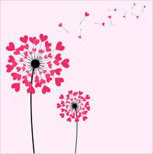 Hearts Fluffy Flower