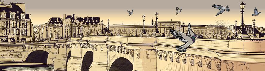 FototapetaParis - Pont neuf
