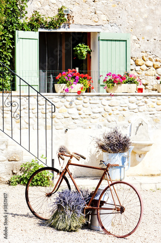 bicycle, Provence, France Poster