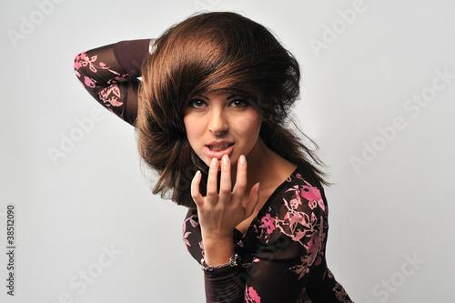 Valokuva  Woman with beautiful hair