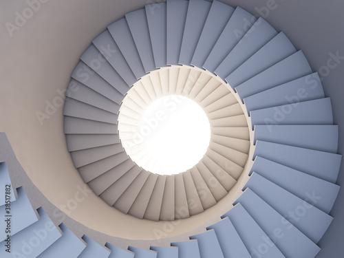 Fototapeta na wymiar Stair to the future.