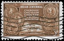 USA - CIRCA 1948 Indian Territ...