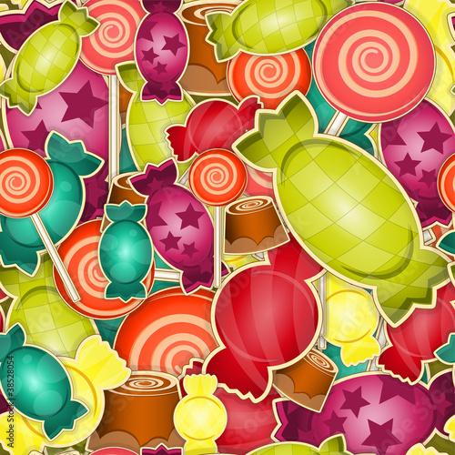 wzor-slodki-cukierek-na-kolorowym-tle