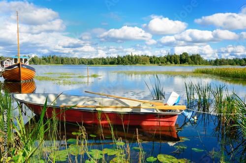 Fotografía  Swedish lake