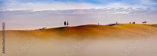Valokuva  Paesaggio toscano