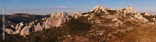 Fotografie, Obraz  Velebit Mountain Range in Croatia - Panorama