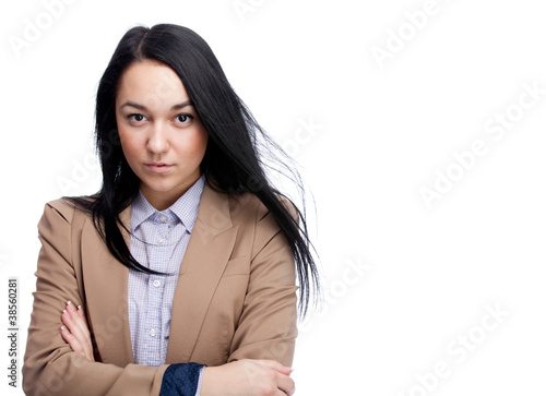 Fototapety, obrazy: Young businesswoman