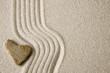 canvas print picture Zen heart