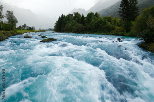Obraz Glacier river - fototapety do salonu
