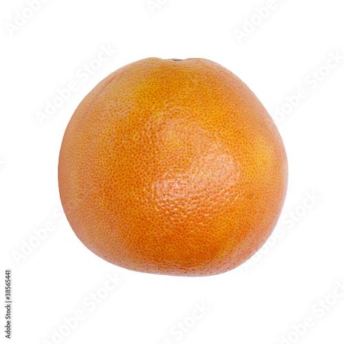 Fototapeta Grapefruit on a white background. obraz na płótnie