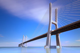 Vasco da Gama bridge, Lisboa, Portugal.