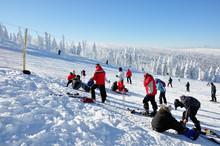 Zimowy Krajobraz - Wyciąg  Lolobrigida, Szklarska Poręba