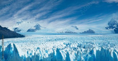 Poster Antarctica Perito Moreno glacier, Argentina.