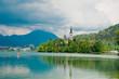 Church at lake Bled, Slovenia