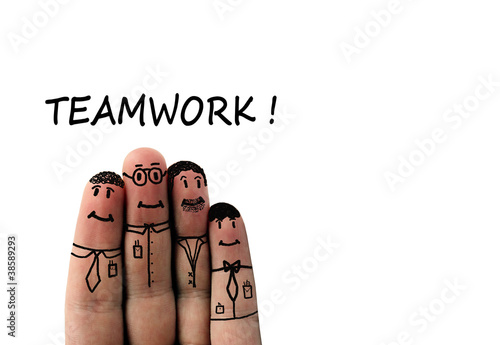 Foto  business teamwork