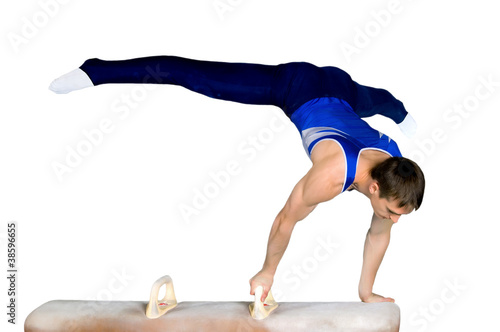 Tuinposter Gymnastiek gymnast