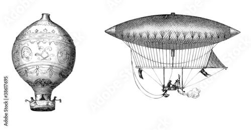 Fotografie, Obraz  Ancient Aerostats