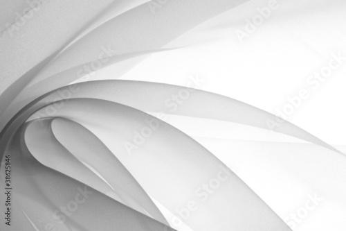 Fotografie, Obraz  soft black chiffon texture
