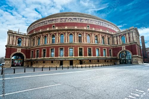 Fototapeta na wymiar The Royal Albert hall, London, UK.
