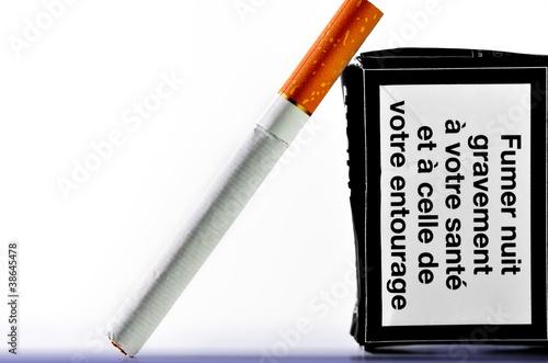 Cuadros en Lienzo tabac,cigarette,pollution,poison,fumeur,règlementation