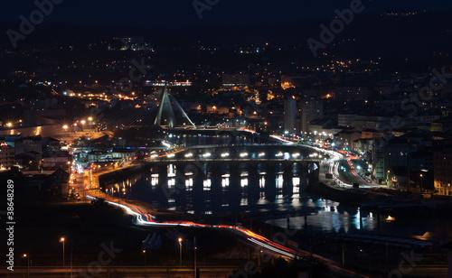 night in Pontevedra