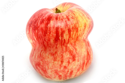 Slika na platnu Red apple on white background