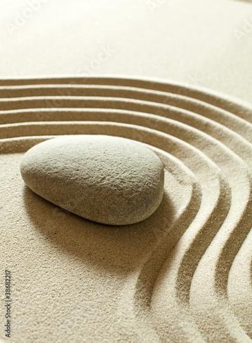 Acrylic Prints Stones in Sand zen serenity calmness
