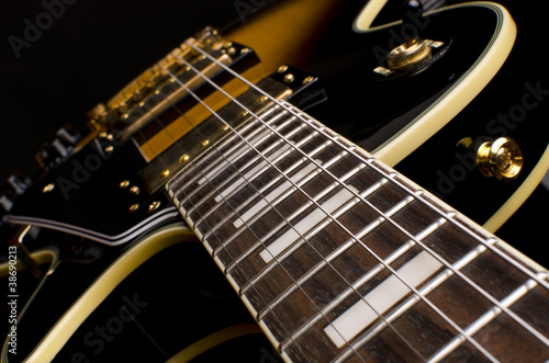 Electric Guitar Close Up Buy This Stock Photo And Explore Similar
