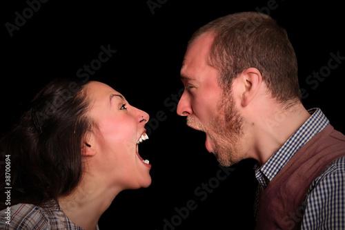 Fotografie, Obraz  Beziehungskrise