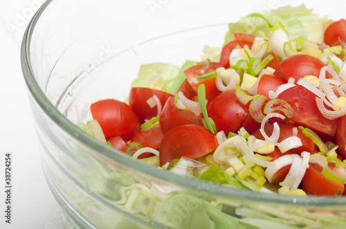 Fototapety, obrazy: Fresh Vegetable Salad