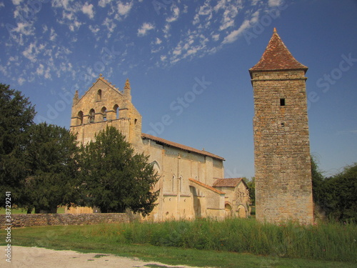 Valokuvatapetti Abbaye de Blasimon ; Gironde ; Aquitaine
