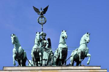 Panel Szklany Podświetlane Berlin Berlin Brandenburger Tor Quadriga