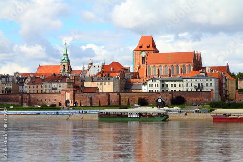 Obraz Toruń - obiekt światowego dziedzictwa UNESCO - fototapety do salonu