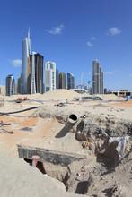 Construction Site At Jumeirah Lake Towers, Dubai