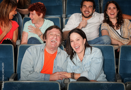 Fotografija  Happy People In Theater