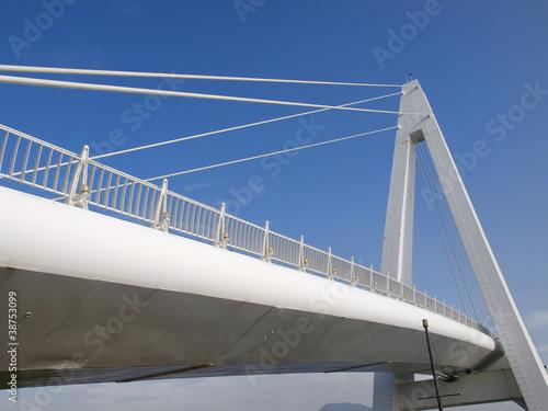 Fototapeta premium Most na nabrzeżu