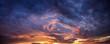 Leinwandbild Motiv Dramatic evening sky