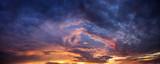 Fototapeta Na sufit - Dramatic evening sky