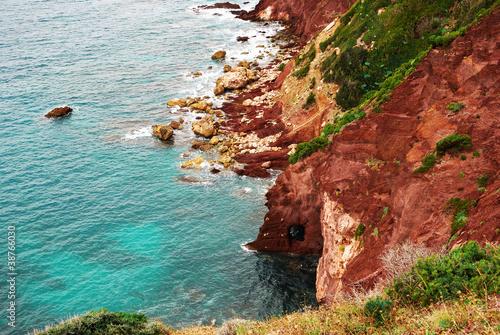 Photo  costa del sulcis, in sardegna