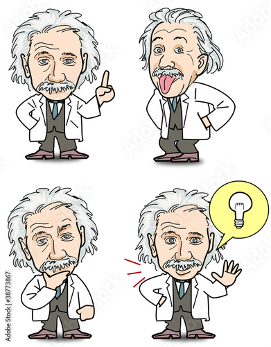 Photo  Einstein - Set