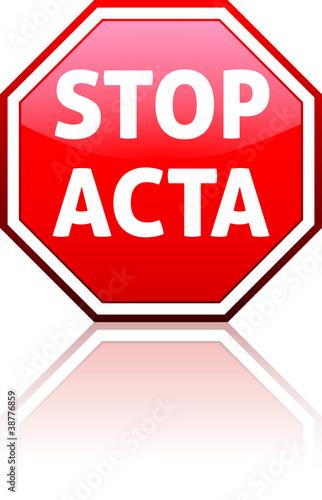 Fotografía  STOP ACTA