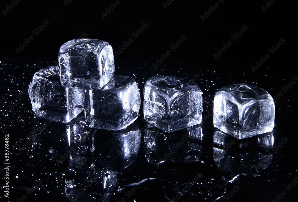 Fototapeta Kostki lodu