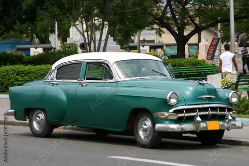 Türaufkleber Autos aus Kuba Auto tipica di Cuba