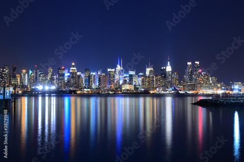 Poster Manhattan Skyline