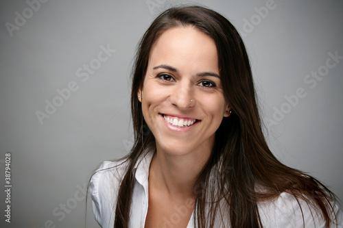 Fotografia  Happy brunette